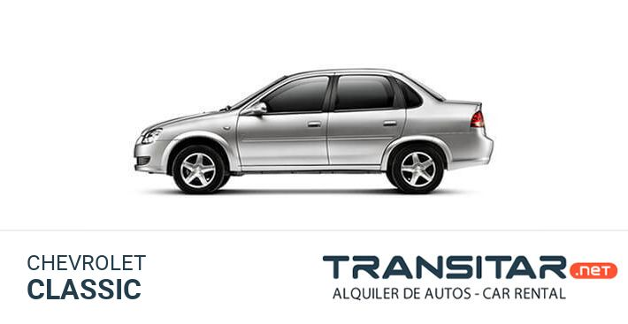 Alquiler de Autos Chevrolet Classic Rent a Car